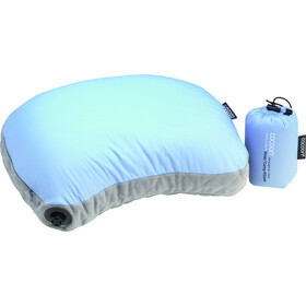 Cocoon Air Core Hood/Camp Ultralight Almohada, light-blue/grey